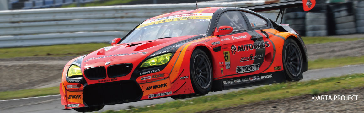 SUPER GT Rd, 3 AUTO POLIS ARTA BMW M6 GT3 Earned first podium this season