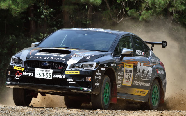 ALL JAPAN DIRT TRIAL Rd,6  SA2class優勝 itzzオクヤマDL栗原WRX