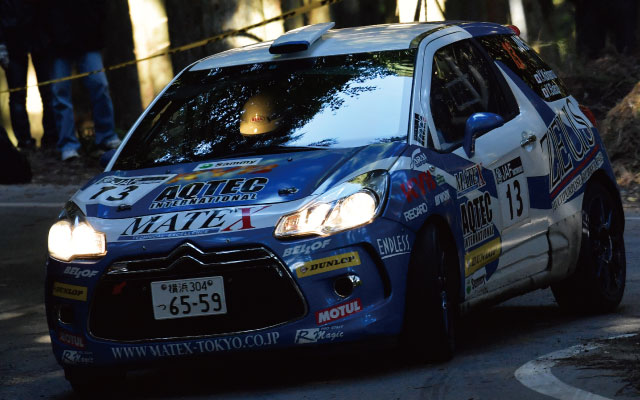 ALL JAPAN RALLY CHAMPIONSHIP Rd,9 JN5 CLASS 1st PLACE 小濱&馬場組