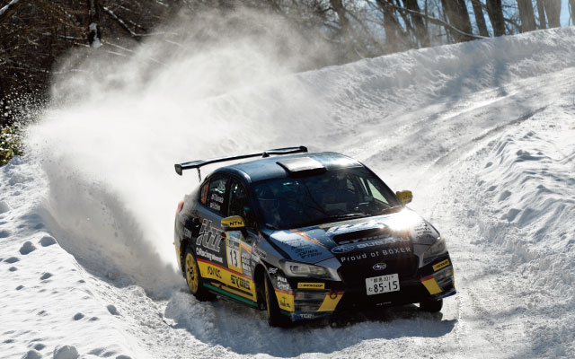 2018 ALL JAPANESE RALLY CHAMPIONSHIP Rd,1 Rally of Tumagoi JN6 class CHAMPION itzz DL SYMS WRX STi