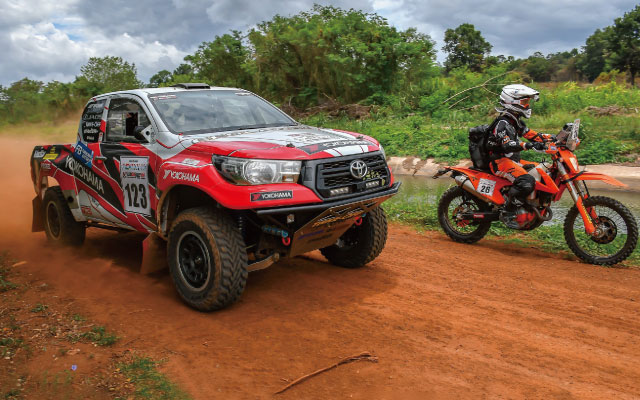 TEAM GEOLANDER x CRAG T - GRABIC ASIA CROSS COUNTRY RALLY 2018 EXHIBITION!