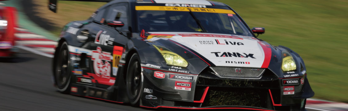 SUPER GT Rd,6 SUGO 300KM RACE GT300 No,10 GAINER TANAX GT-R 2nd PLACE