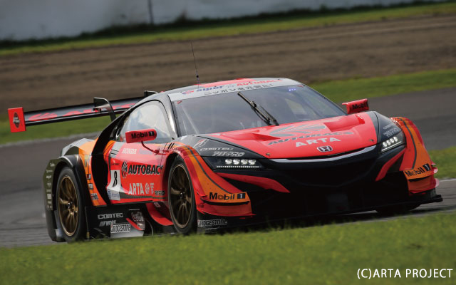 SUPER GT Rd,6 SUGO 300KM RACE GT500 ARTA NSX-GT 2nd PLACE