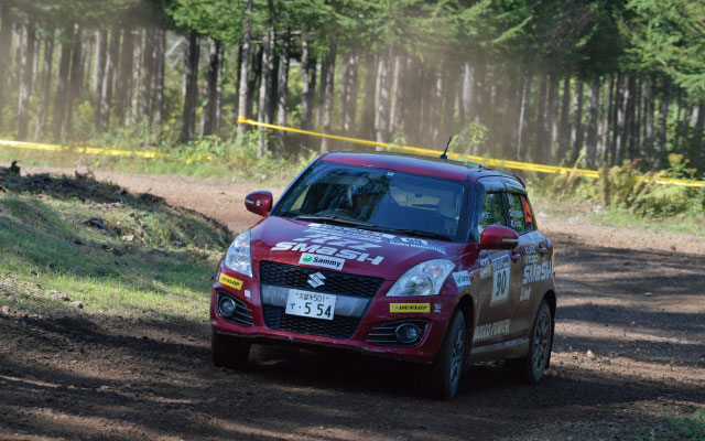 ALL JAPAN RALLY CHAMPIONSHIP Rd,8古川寛 / 廣田幸子組 今シーズン4勝目!