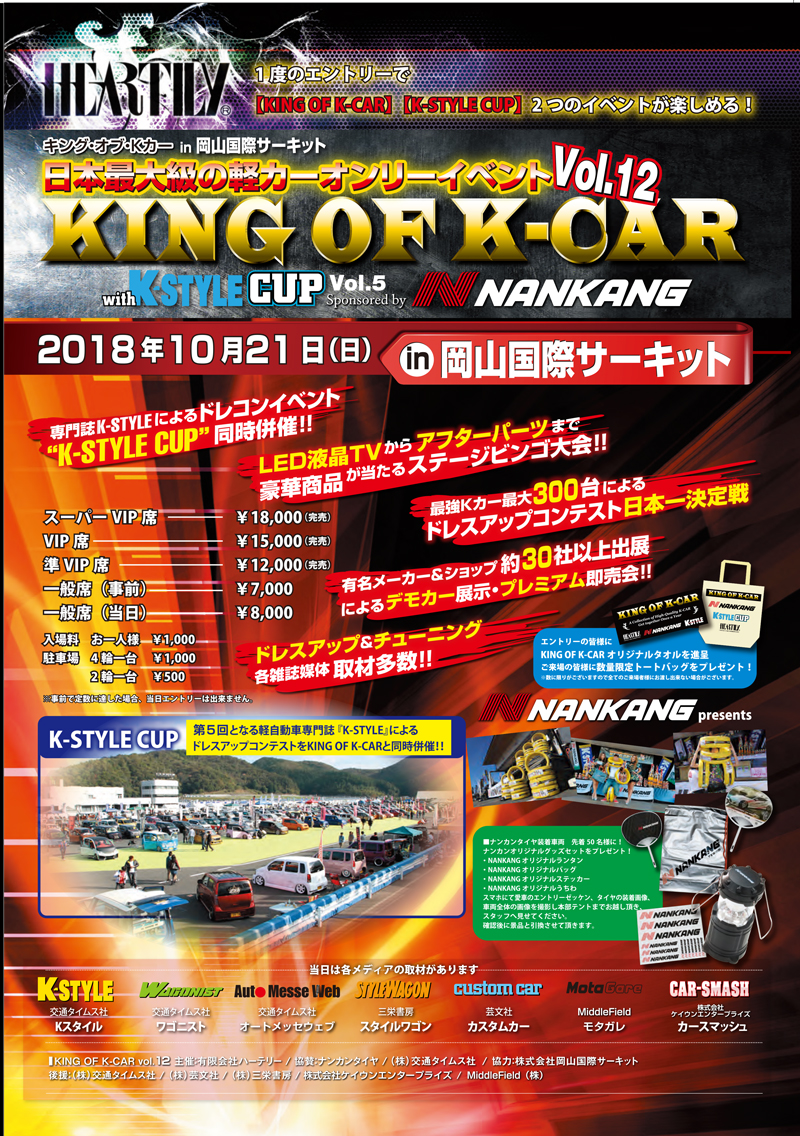 KING OF K-CAR Vol.12