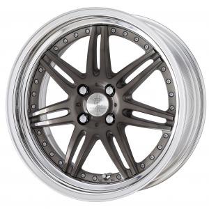 【STEP RIM】TRANS GRAY POLISH(TGP) 17inch