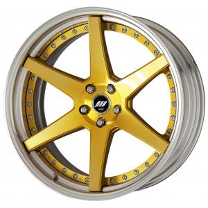 【Step rim】IMPERIAL GOLD(IPG)※COLORism Clear 21inch