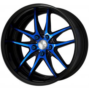 Black / Clear Blue (BCB) + black anodized aluminum rim ※ custom order plan