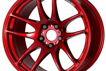 Candy Red (CAR) WORK EMOTION CR Kiwami
