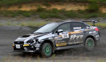 2016 ALL JAPAN DIRT TRIAL CHAMPIONSHIP NANO TOP CUP SA2 CLASS itzzオクヤマDL栗原WRX 鎌田選手が2位を獲得