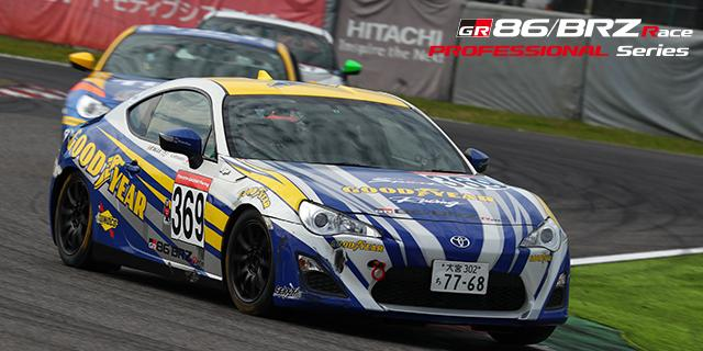 GY RACING 86 # 369 Hiranaka player who takes the position of the fierce third place in the final round 5 weeks