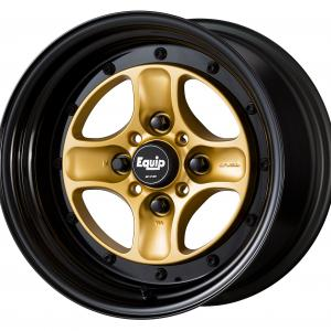 Sprint Gold (SGL) + black alumite rim (COP) + B Set 15inch