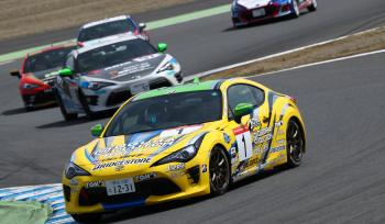 GAZOO RACING 86/BRZ RACE ROUND,1 MOTEGI POLE to WIN!!