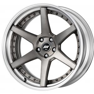 【Step rim】MAT GRAY BRUSHED(MBUA) ※DEEP-CONCAVE 20inch + Best