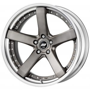 【Step rim】MAT GRAY BRUSHED(MBUA) ※DEEP-CONCAVE 20inch