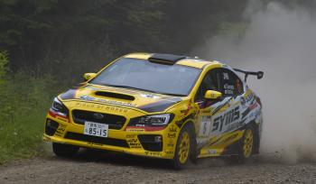 ALL JAPAN RALLI Rd, 6 2017 ARK Rally Toya Kamada wins the first season in local Hokkaido!