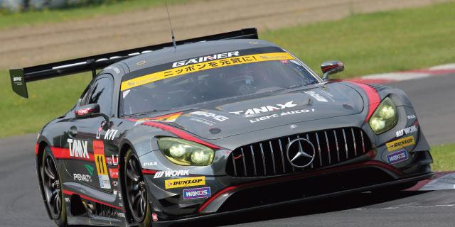 SUPER GT Rd,4 SUGO  GAINER TANAX AMG GT3 が3年ぶりの優勝!