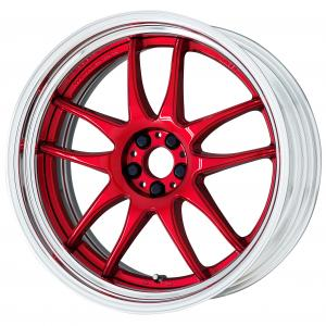 Candy Red (CAR) 20inch Step Rim ※ color rhythm clear
