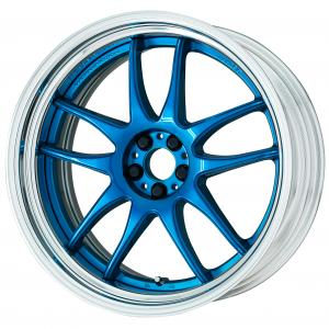 Candy Blue (CAB) 20inch Step Rim ※ color rhythm clear
