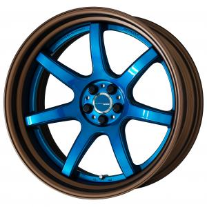 Candy Blue (CAB) 20inch Step Rim Matte bronze alumite rim ※COP rim arrangement &  Extra select & Option cap
