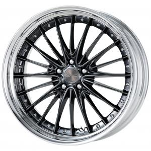 【Step Rim】 Brilliant Silver Black (BSB) 21inch