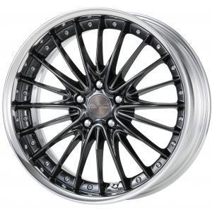 Brilliant Silver Black (BSB) 19inch