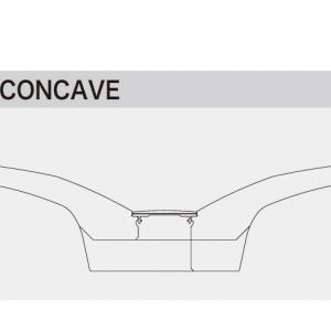 Concave comparison view
