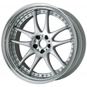 【Step Rim】 Burning Silver (BS) Semi-Concave 21inch