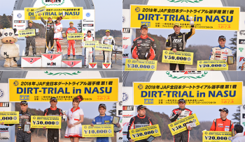 All Japan Dirt Trial Championship 1st Battle Results Result