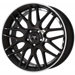 BLACK METALLIC CUT CLEAR (BMRC)※ 19inch Semi Concave