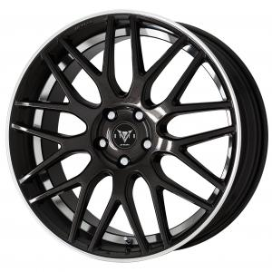 BLACK METALLIC CUT CLEAR (BMRC)※ 20inch Semi Concave
