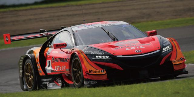 SUPER GT Rd,6 SUGO GT500 ARTA NSX-GT 2nd PLACE / GT300 GAINER TANAX GT-R 2nd PLACE
