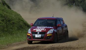 ALL JAPAN RALLY CHAMPIONSHIP Rd, 8 Hiroshi FURUKAWA / Yukiko Hirota This is the 4th win of the season!