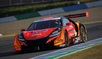 SUPER GT Rd,8 MOTEGI No,8 ARTA NSX-GT POLE TO WIN