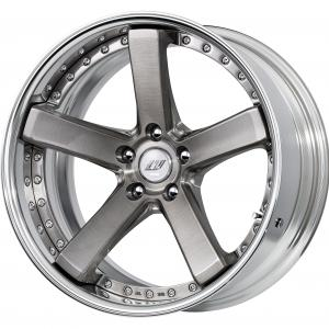 Trans gray brushed (BUA) 19 inch deep concave ※ color rhythm clear