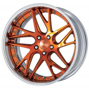 Color rhythm clear: Copper clear (PUC 2) 20 inch deep concave