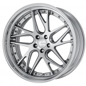 【Step rim】 Composite Buffed Brushed (PBU) 21inch Middle Concave