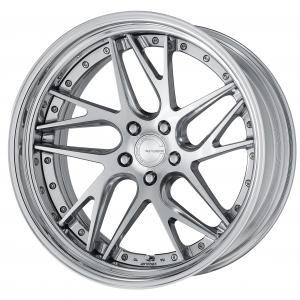 【Step rim】 Composite buffed brushed (PBU) 21inch deep concave