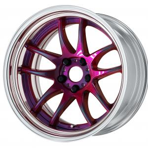 【Step rim】 color rise clear: asterism red (ARR) * deep concave bron 18 inch