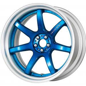 【Step rim】 Color rise clear: Candy blue (CAB) ※ COP: Brush Drim Deep Concave 20inch
