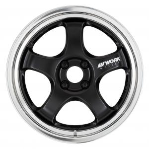 【STEP RIM】MAT BLACK(MBL) 17inch