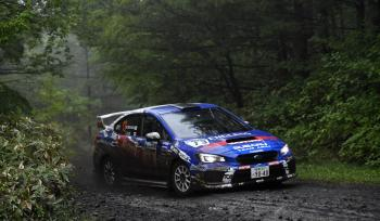 All Japan Rally Championship Round 5 Monterey 2019 JN1 Class Work Wheel Podium Exclusive!