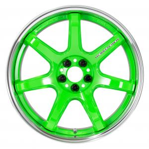 Colorism: Energy Lime Green (ELG) * Deep concave 18inch
