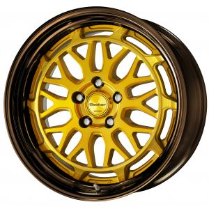 IMPERIAL GOLD(IPG)※ colorism clear 18inch+ COP: Bronze anodized trim