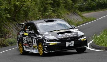 All Japan Rally Championship Round 5 Rally Tango JN1 class Takuma Kamata / Yutaka Suzuki wins the championship!